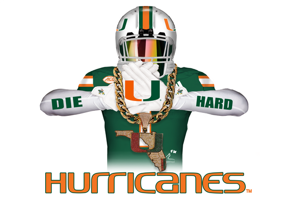 Miami Hurricanes Turn Over Chain Player