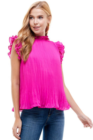 Pleated For Perfection Top