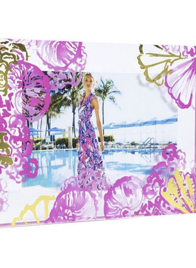 Lilly Pulitzer Photo Frame (Coco Coral Crab)
