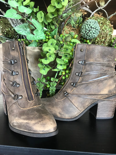 Sbicca Peacemaker Lace Up Boot