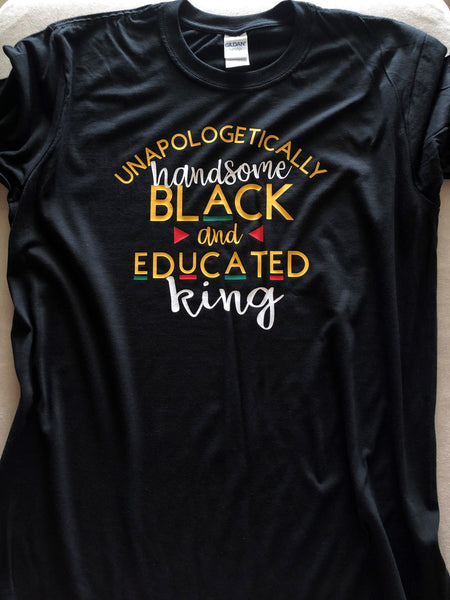 Unapologetically Black King Shirt