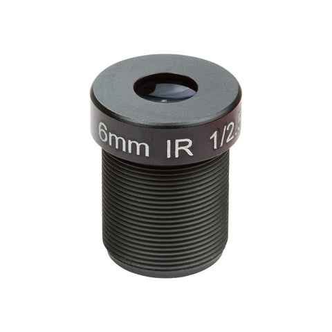"Arducam Camera Arducam 1/2.5"" M12 Mount 6mm Focal Length Camera Lens M2506ZH04"