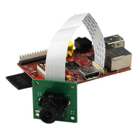 Arducam Camera Arducam 5MP OV5647 Camera Board /w M12 Lens for Raspberry Pi (B0031)