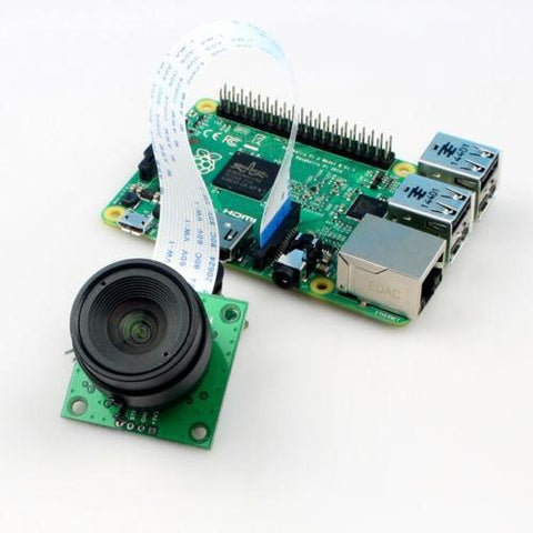 Arducam Camera Arducam 5MP OV5647 Camera Board with CS Lens for Raspberry Pi (B0032)