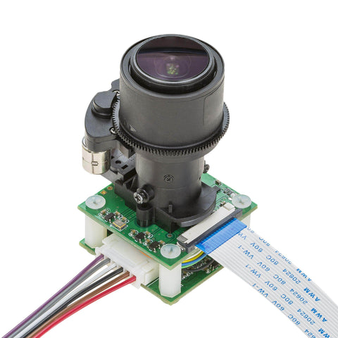 Arducam Camera Arducam 8MP Pan Tilt Zoom PTZ Camera for Raspberry Pi B01678MP