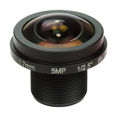 "Arducam Camera Arducam M12 Mount Camera Lens M25170H12, 1/2.5"" Optical Format Fisheye"