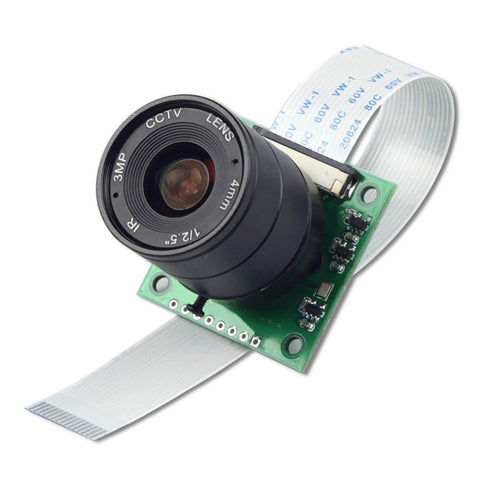 Arducam Camera Arducam NOIR 8MP Sony IMX219 Camera CS Lens 2718 for Raspberry Pi (B0153)