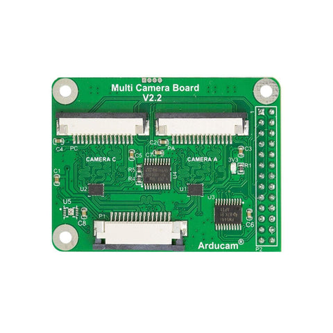 Arducam Camera B0120 Arducam Multi Camera Adapter module V2.2 for Raspberry Pi compatible with Arducam MIPI Cameras