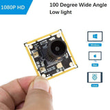 Arducam Camera B0200 Arducam 1080P IMX291 Low Light Wide Angle USB Camera Module with Microphone