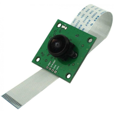Arducam Camera OV5647 5 MP Camera with M12 Mount LS-40180 Fisheye Lens for Raspberry Pi