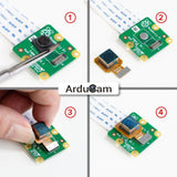 Arducam Camera Raspberry Pi Official Camera Module V2 with 8 Megapixel IMX219 Autofocus (B0207+B0182)