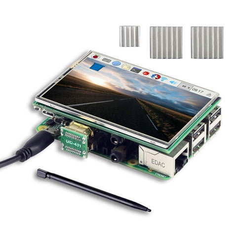 "Arducam Raspberry Pi Kits Raspberry Pi 3.5"" HDMI TFT LCD Display Touchscreen Kit"
