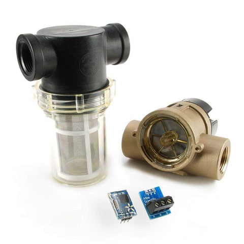 "Atlas Scientific Water Flow 3/4"" Flow Meter Kit - Atlas Scientific"