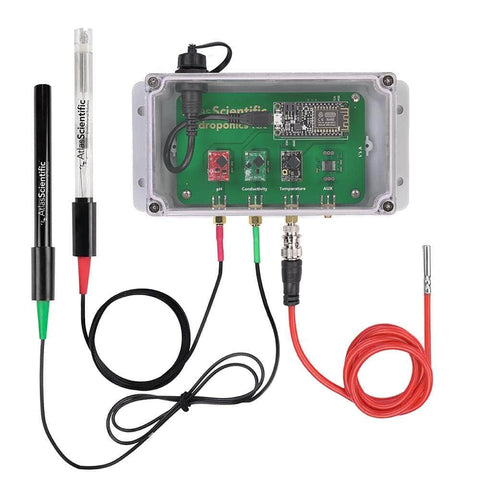 Atlas Scientific Water Quality WiFi Hydroponics Kit Water Quality Monitoring