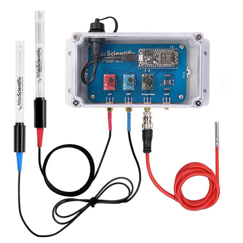 Atlas Scientific Water Quality WiFi Pool Kit Water Quality Monitoring