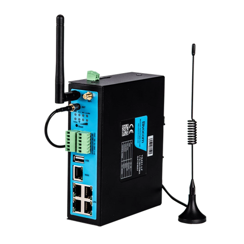 Bivocom IoT Comms Default (Single Sim, Inc. WiFi) / B1-B2-B3-B5-B7-B8-B20-B28 Industrial Cellular 3G/4G WiFi IOT Gateway - TG451 (AU Freq.)