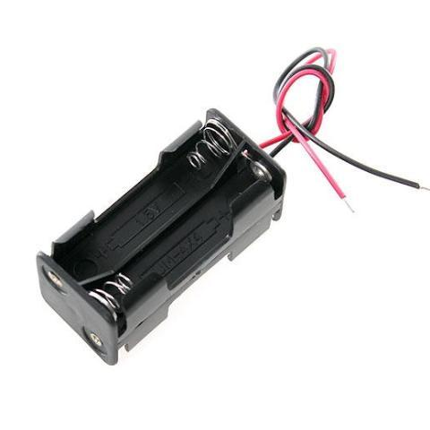 Cytron Battery Holder 4xAAA Battery Holder (Compact)