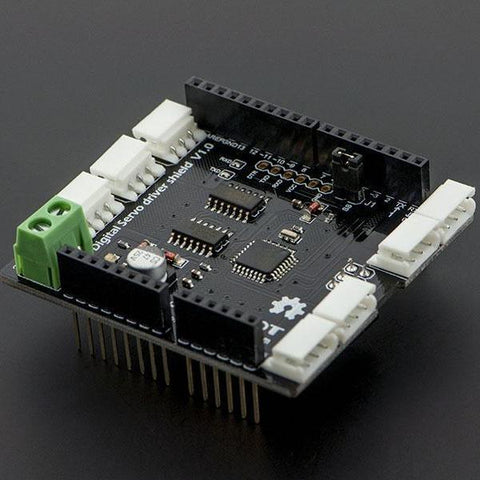 DFRobot Motor Driver DFRobot Smart Arduino Digital Servo Shield for Dynamixel AX