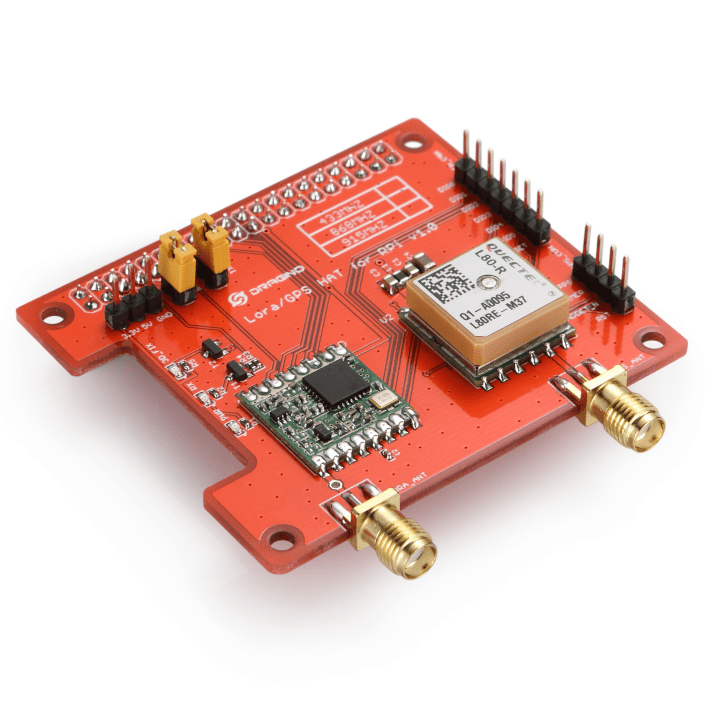 LoRa and GPS HAT for Raspberry Pi - Long Range Transceiver