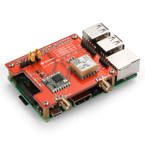 LoRa and GPS HAT for Raspberry Pi Long Range Transceiver