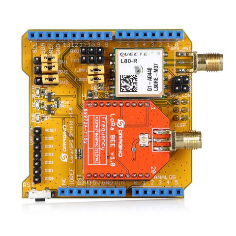 LoRa and GPS Shield for Arduino - Long Range Transceiver @ IOT Store