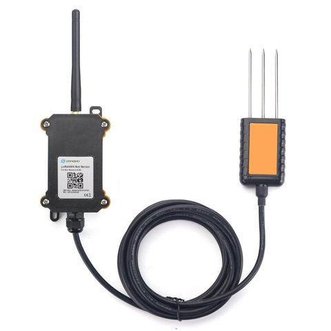 Dragino LoRaWAN AU915MHz - AS923MHz LSE01 LoRaWAN Wireless Soil Moisture & EC Sensor