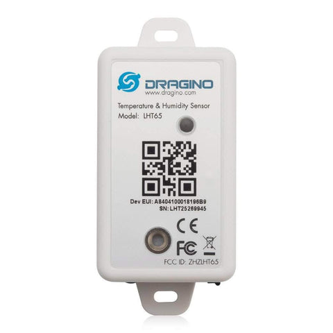 Dragino LoRaWAN LHT65 LoRaWAN Temperature & Humidity Sensor