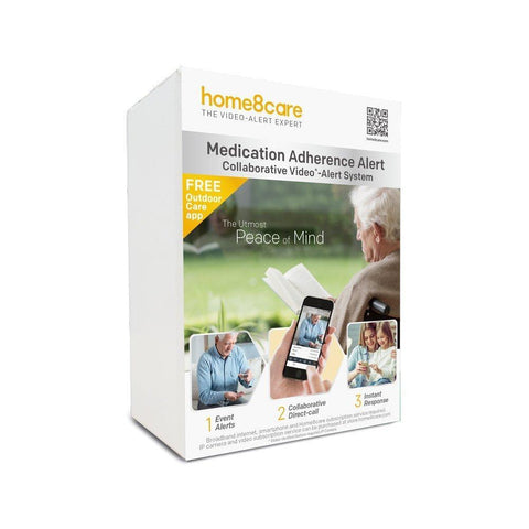 Home8 Smart Health Medication Adherence Alert System Package - Home8