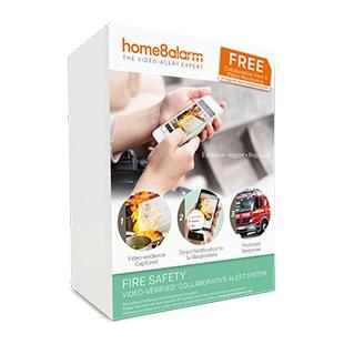 Home8 Smart Home Fire Safety Alarm System Package - Home8