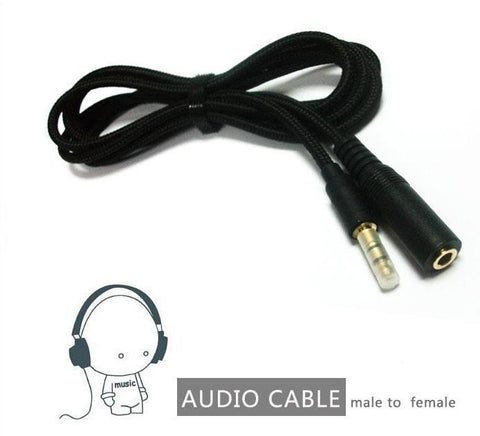 IoT Store Pty Ltd Cables & Connectors Audio Extension Cable 1M Jack 3.5mm Adapter