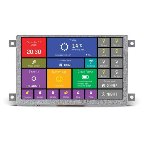 "MikroElektronika Click HMI mikromedia HMI 5"" - MikroElektronika Smart Color Display"