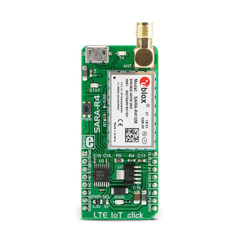 MikroElektronika Click Wireless Connectivity LTE IoT Click - MikroElektronika NB-IoT & LTE CAT-M1 Module