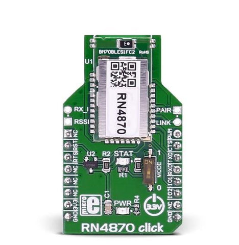 MikroElektronika Click Wireless Connectivity RN4870 click - MikroElektronika Microchip RN4870 Bluetooth 4.2 BLE