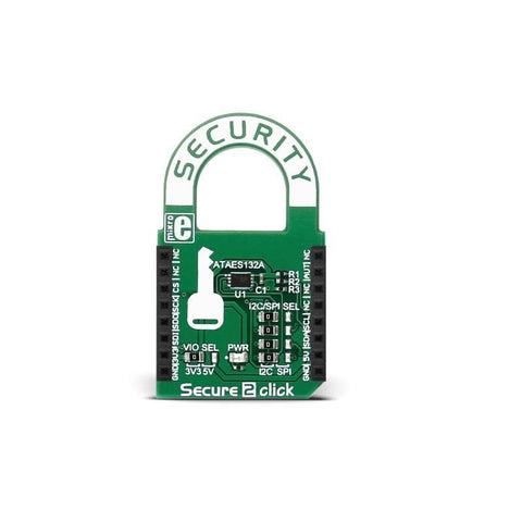 MikroElektronika Security Boards Secure 2 click - MikroElektronika Cryptographic Coprocessor