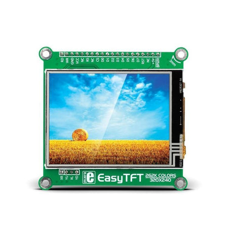 MikroElektronika Smart Displays EasyTFT Board -MikroElektronika 320x240px TFT Display