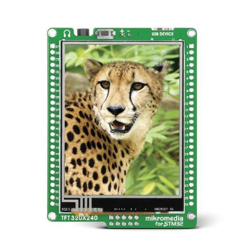 MikroElektronika Smart Displays mikromedia for STM32 M3 - Smart Color Display 320x240 TFT