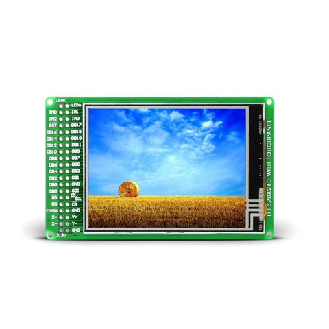 MikroElektronika Smart Displays TFT PROTO Board 320x240px TFT Color Display