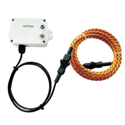 Netvox LoRaWAN R718WB LoRaWAN Wireless Water Leak Detector with Rope Sensor