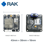 RAK Wireless Click Wireless Connectivity RAK8211-NBS iTracker BC95 NB-IoT BLE GPS Tracker