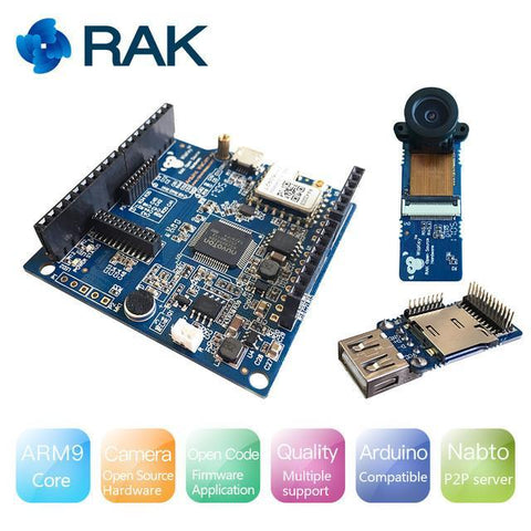 RAK Wireless IoT Board RAK WisCam - IoT WiFi Camera Module Evaluation Kit