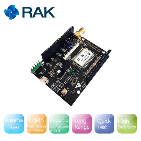RAK Wireless LoRa Board WisNode LoRa Module - Arduino Compatible with LoRawan Development Board