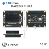 RAK Wireless LoRa IoT RAK2245 Pi HAT LoRa module with Raspberry Pi form factor SX1301