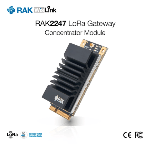 RAK Wireless LoRa IoT RAK2247 LoRaWAN Gateway - Concentrator Module - AU915 - USB