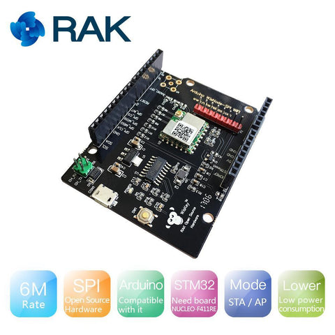 RAK Wireless SPI WisNode SPI Development Board RAK439 EVK Arduino Compatible