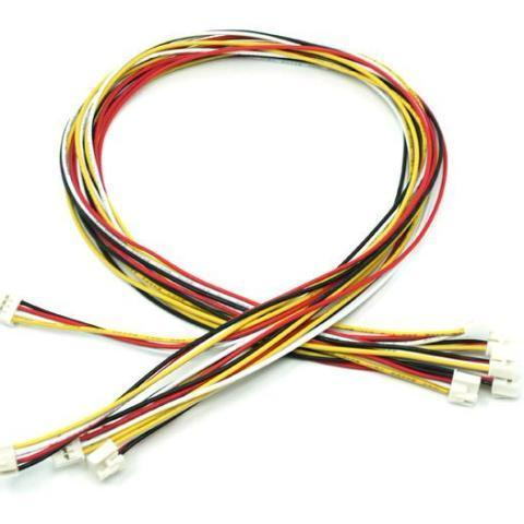 Seeed Studio Jumper Wire Seeed Grove - Universal 4 Pin Buckled 40cm Cable (5 PCs Pack)