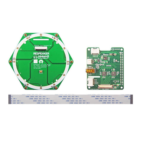 Seeed Studio Sensor ReSpeaker 6-Mic Circular Array Kit for Raspberry Pi
