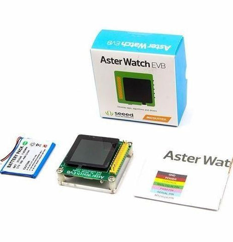 Seeed Studio Smart Watch Aster Watch EVB Wearables and IoT Development Board
