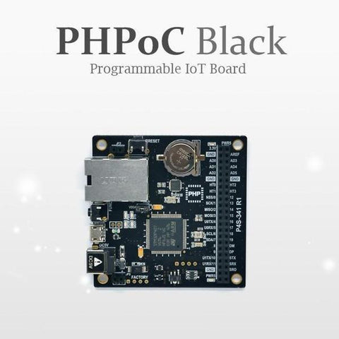 Sollae Systems PHPoC Black PHPoC Black (P4S-341) - IOT Development Board