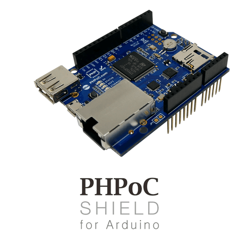 Sollae Systems PHPoC Shield PHPoC Shield for Arduino Development Boards (P4S-348)