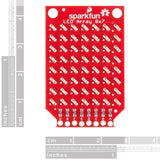 SparkFun LEDs SparkFun LED Array - 8x7